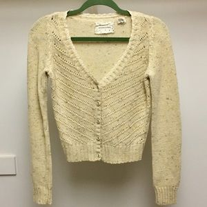 uo coincidence and chance cropped cardigan